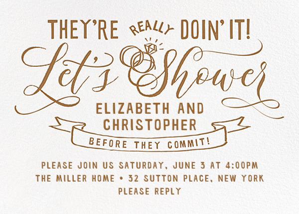Let's Shower - Cheree Berry - Bridal shower