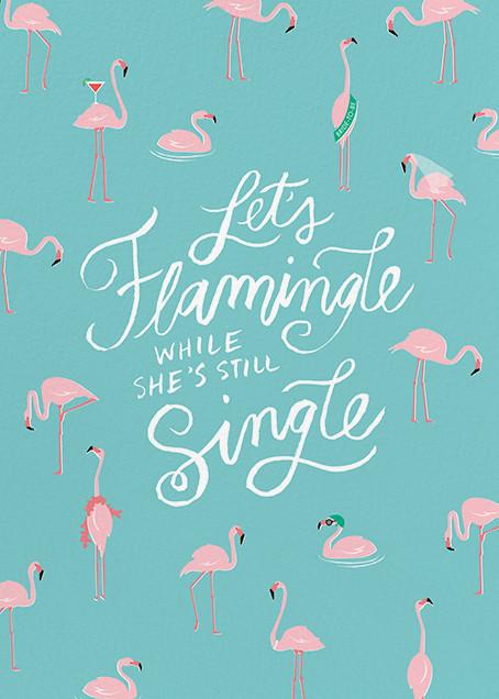 Ready to Flamingle - Cheree Berry - Bachelorette party