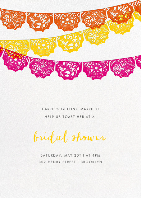 Tulum - Multi - Paperless Post - Bridal shower