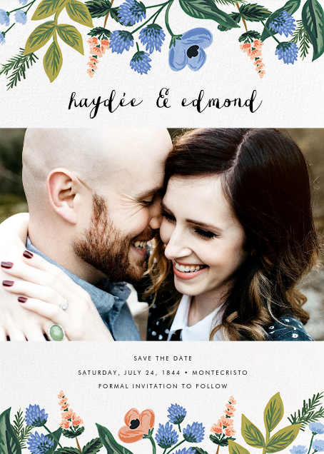 August Herbarium (Photo Save the Date) - Rifle Paper Co. - Photo