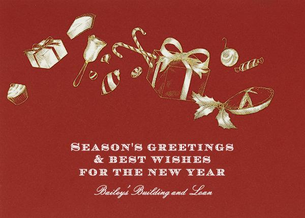 Holiday Treats - Crimson - Paperless Post - Holiday cards