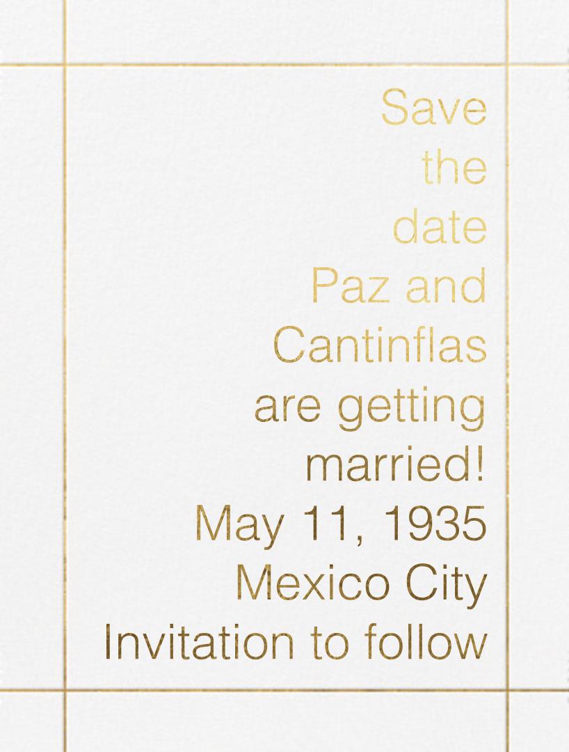 Reinhardt - Paperless Post - Save the date