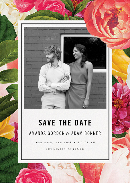 Lanai Floral (Save the Date) - kate spade new york - Save the date