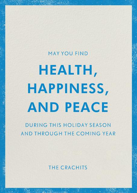 Happy Hanukkah Menorah - Paperless Post - Hanukkah - card back