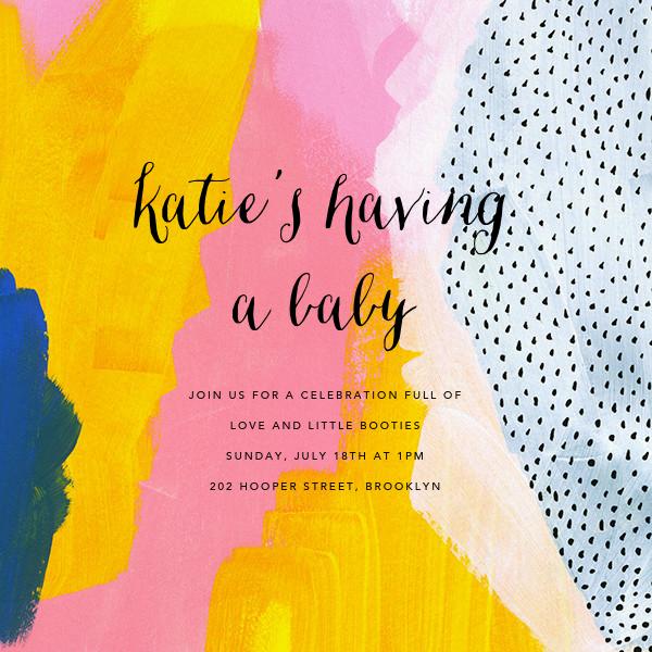 Sundry Strokes - Ashley G - Baby shower