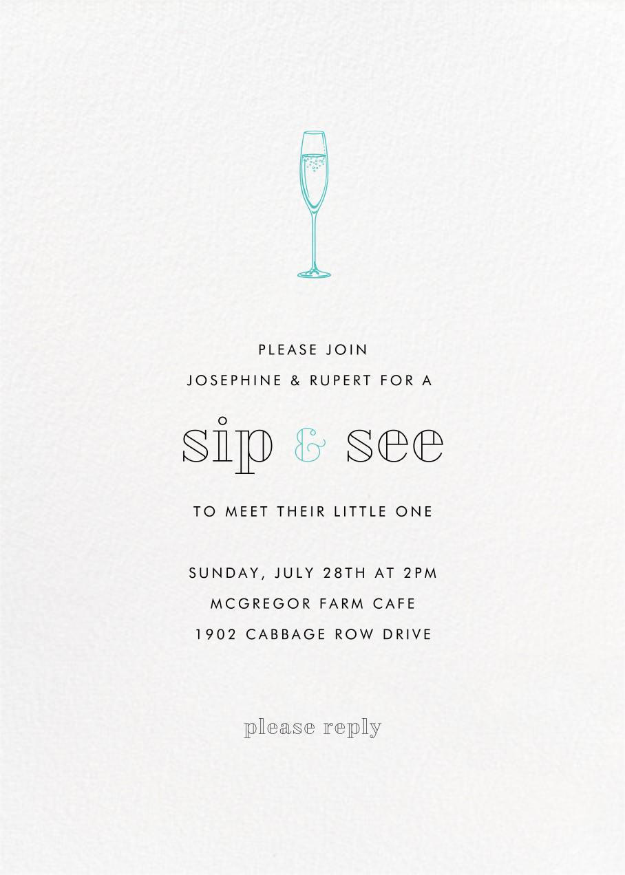 Full-Page Photo (Double-Sided) - Paperless Post - Baby shower - card back