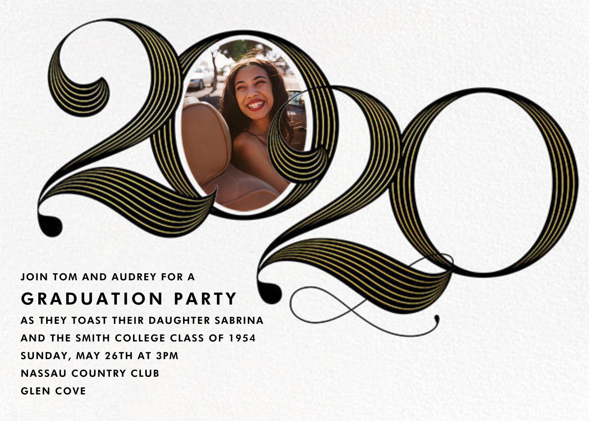 Date with Destiny - Paperless Post - Graduation party