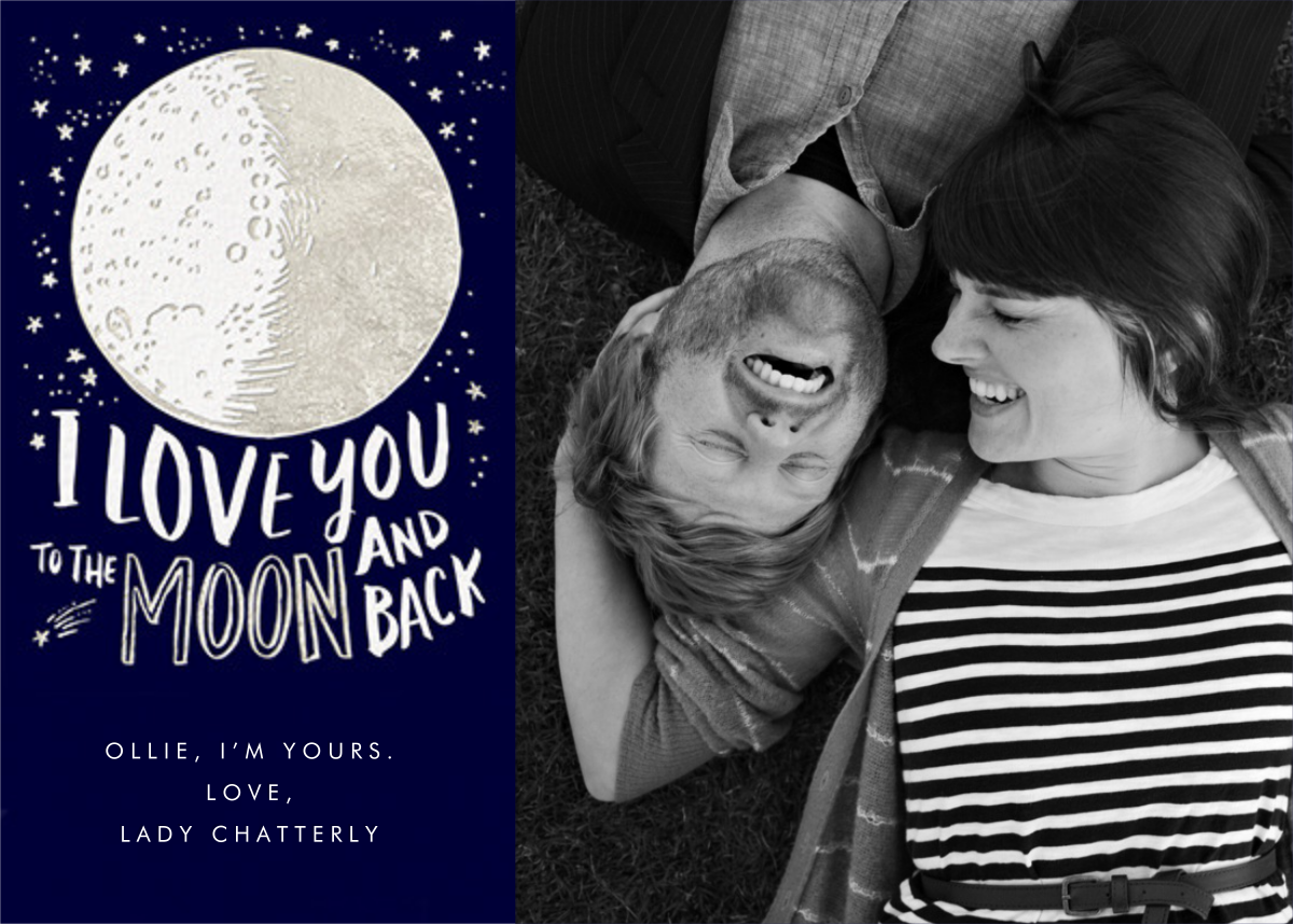 To the Moon (Photo) - Hello!Lucky - Love cards
