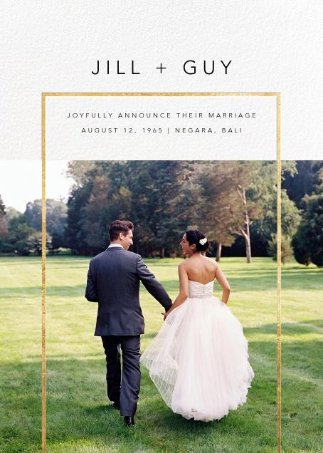 Truitt - Gold - Paperless Post - Wedding