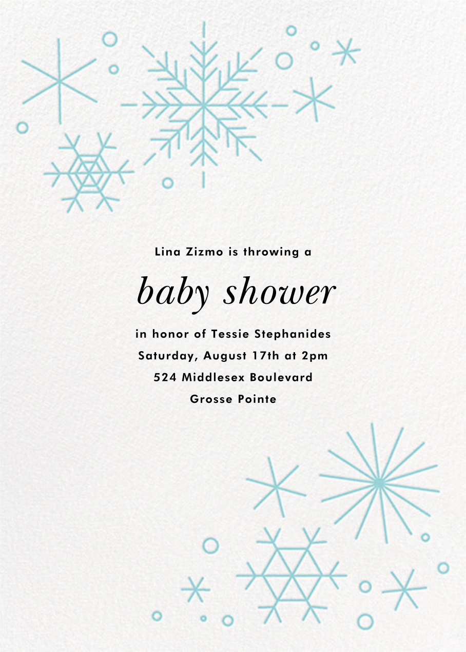 No Two Alike - Caribbean - Paperless Post - Baby shower