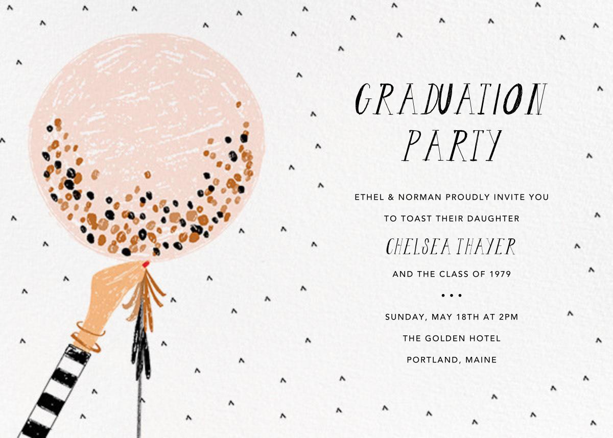 Ready to Burst - Pavlova/Fair - Mr. Boddington's Studio - Graduation party