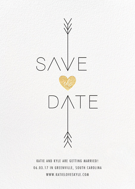 Cupid Was Here - White - Cheree Berry - Save the date