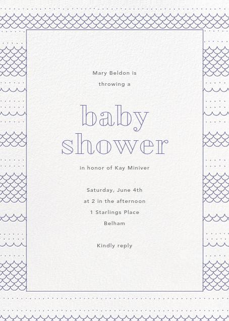 Thalassa - Iris - Paperless Post - Baby shower