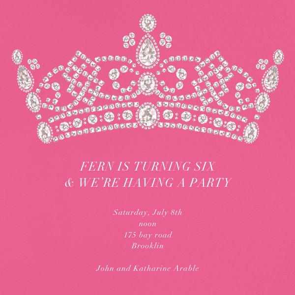 Tiara - Pink - Paperless Post