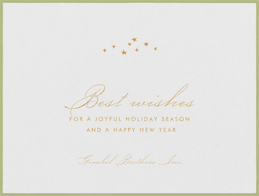 Galilei - Celery - Paperless Post - Holiday cards