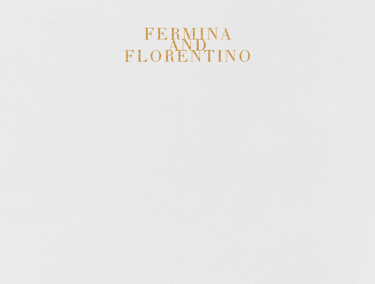 Editorial I (Stationery) - Gold - Paperless Post - Personalized stationery
