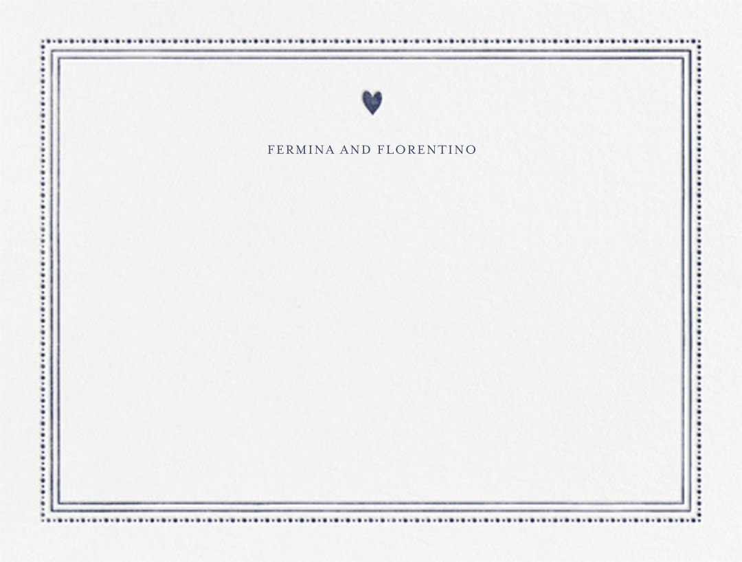 Miss Cricket (Stationery) - Navy - Mr. Boddington's Studio - Personalized stationery
