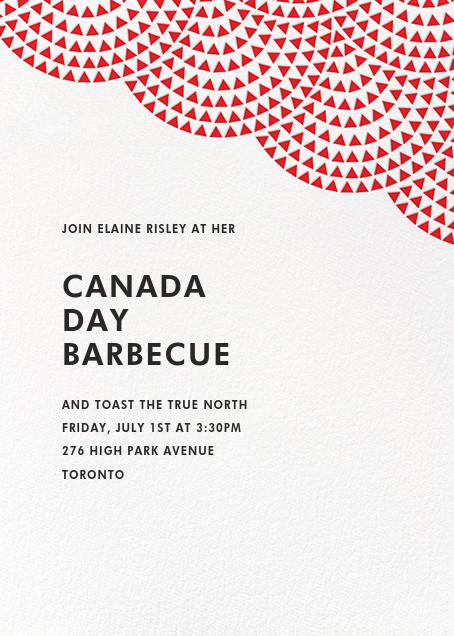 Savoy (Tall) - Maraschino - Paperless Post - Canada Day