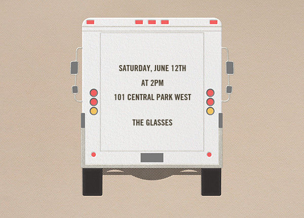 Join Us - Delivery Truck - Paperless Post - General entertaining - card back