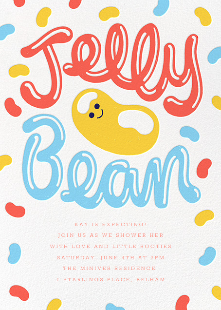 Spill the Beans - Paperless Post - Baby shower