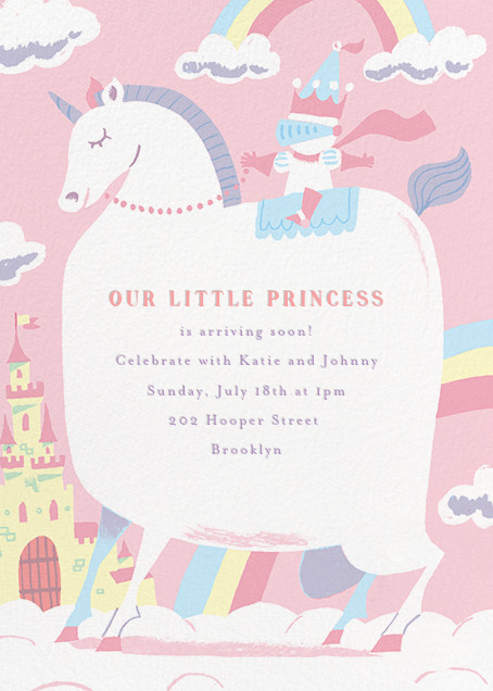 Our Little Princess - Paperless Post - Baby shower