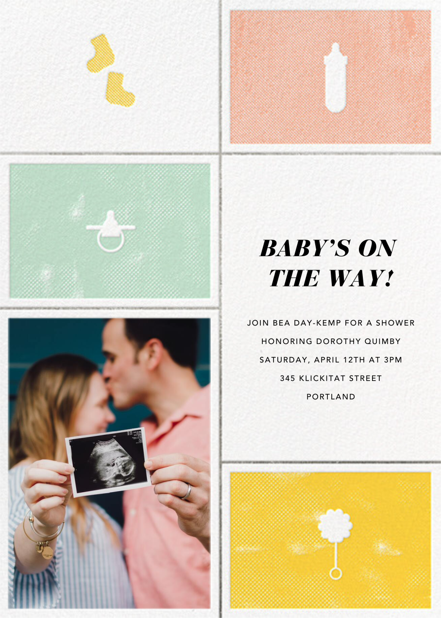 The Symbol Life - Silver - Paperless Post - Baby shower
