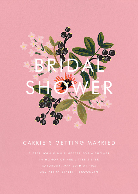 March Posy - Rifle Paper Co. - Bridal shower