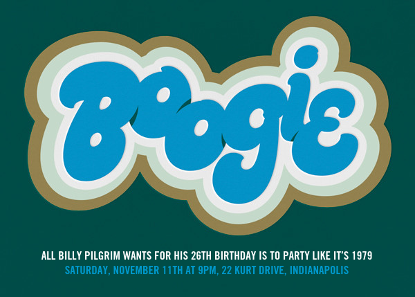 Boogie Down - Paperless Post - null