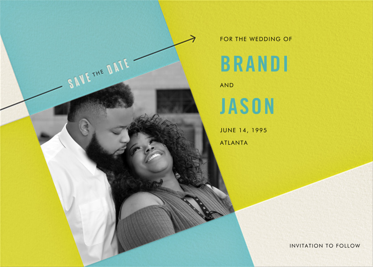 Cinescope - Crate & Barrel - Party save the dates