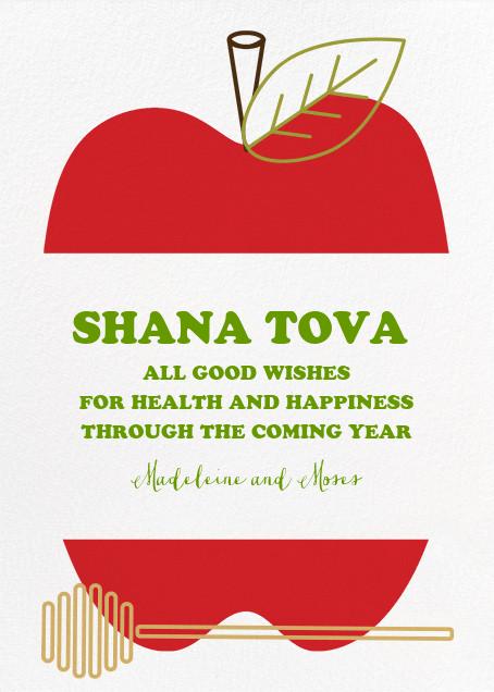 Core Values (Greeting) - Paperless Post - Rosh Hashanah
