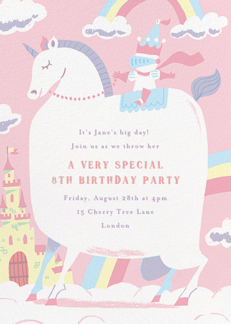 Our Little Princess - Paperless Post - Kids' birthday