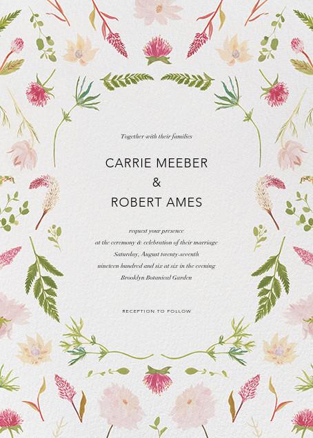 Fleurs de Printemps - Paperless Post - Rustic