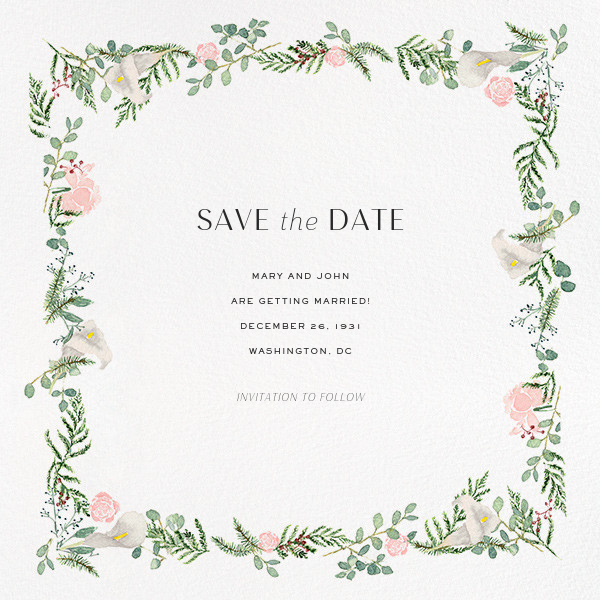 Lautaret (Save the Date) - Paperless Post - Save the date