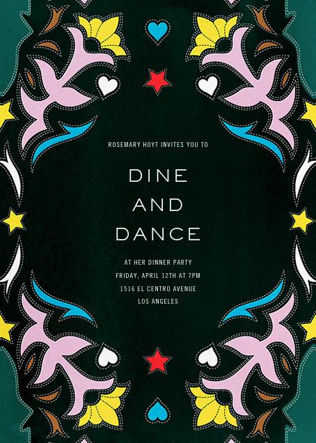 Showmanship - Mary Katrantzou - Dinner party