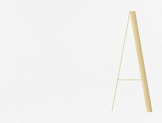 Nouveau (A) - Paperless Post - Personalized stationery