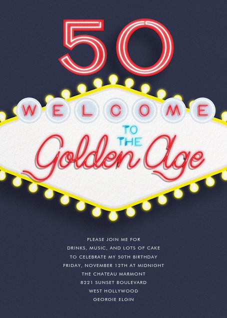Birthday in Vegas - Paperless Post - Adult birthday