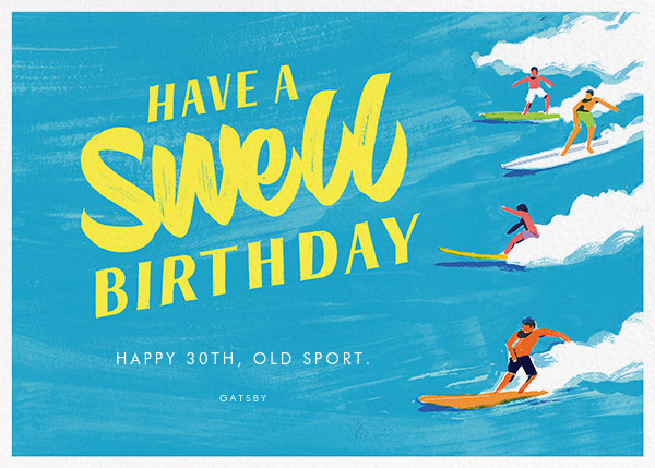 Have a Swell Birthday - Paperless Post - Funny birthday eCards