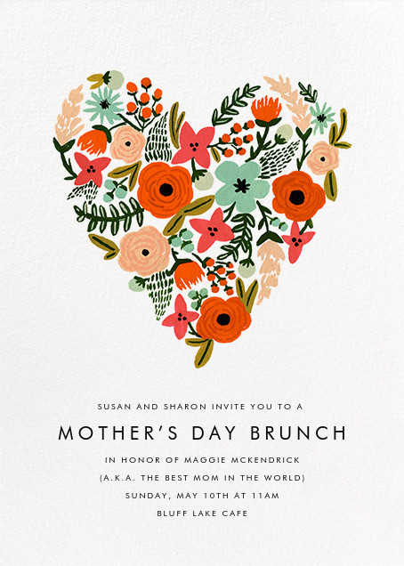 Heart of Plenty - Rifle Paper Co. - Mother's Day