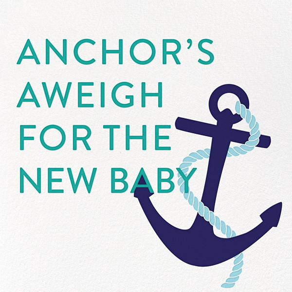 Little Sailor - Jonathan Adler - Baby shower
