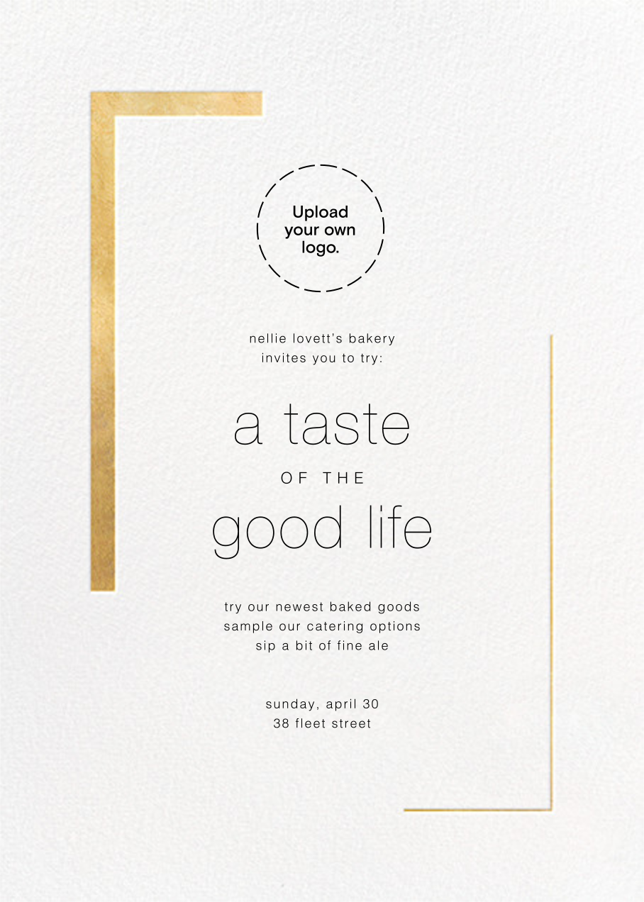 Ando (Invitation) - Gold - Paperless Post