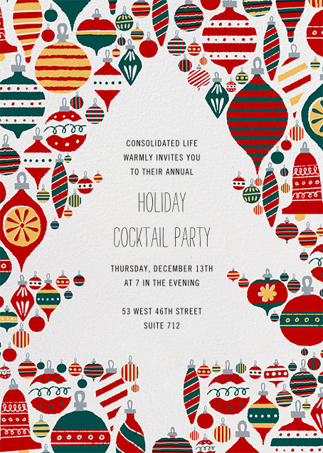 Christmas Clearing - Paperless Post - Corporate invitations