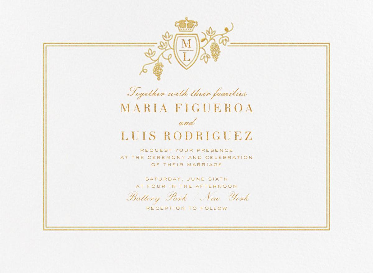 Amador (Invitation) - Paperless Post