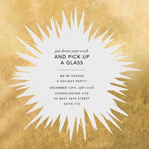Exuberant - Gold - Kelly Wearstler - Corporate invitations