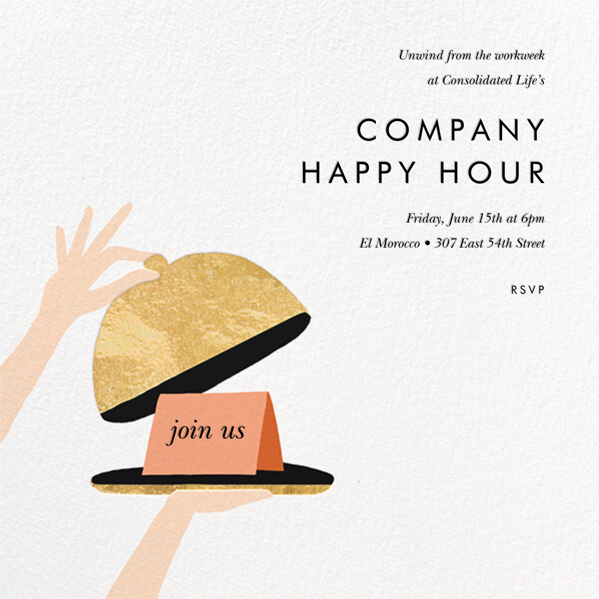 Cloche - Rifle Paper Co. - Happy hour