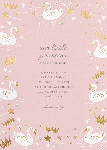 Fairy Tale Royalty - Blush - Hello!Lucky - Baby shower