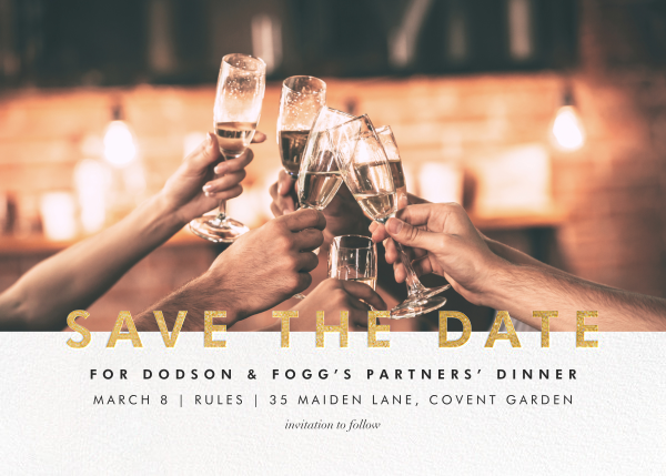 Talbot - Gold - Paperless Post - Event save the dates