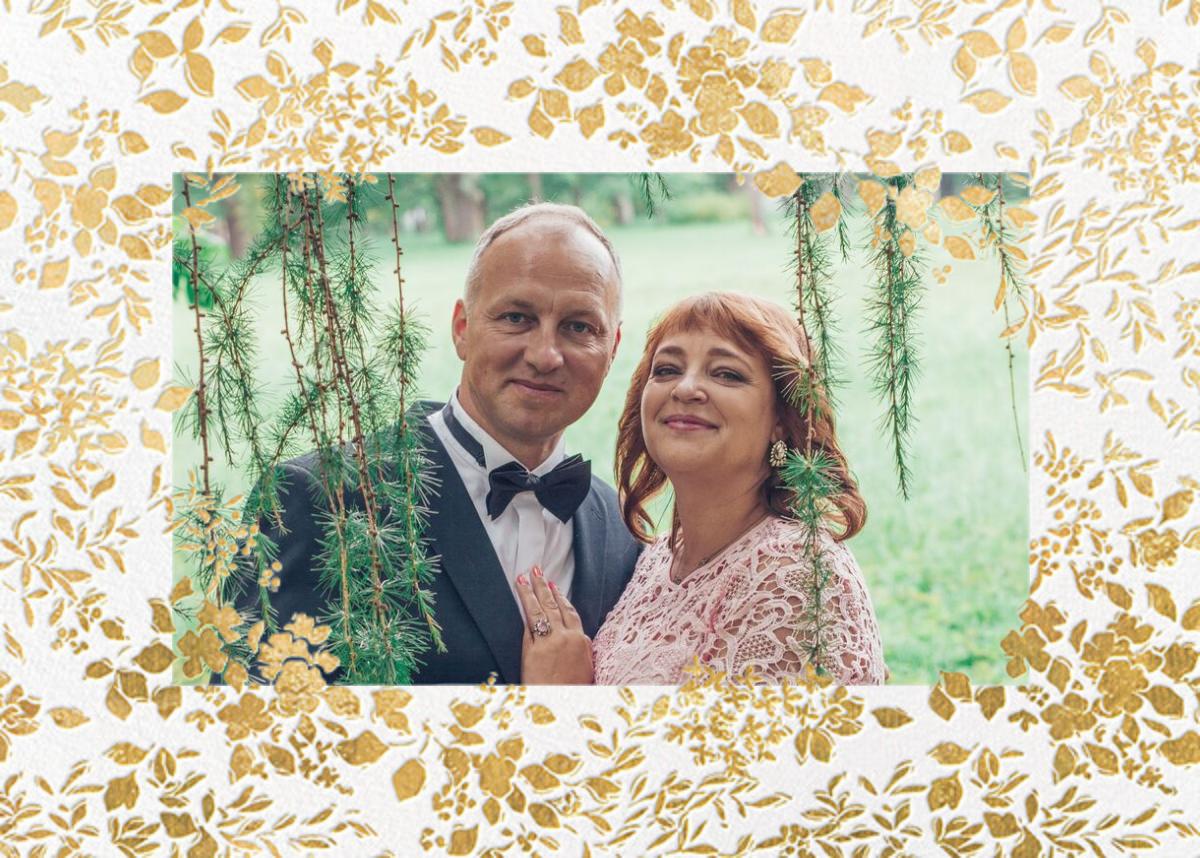 Richmond Park (Photo) - Gold - Oscar de la Renta - Wedding