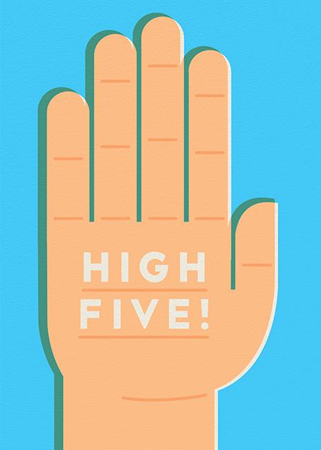 High 5 - The Indigo Bunting - Congratulations