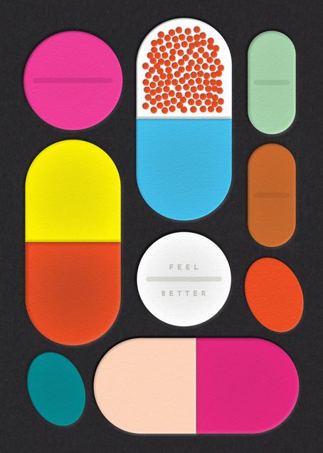 Pills - The Indigo Bunting - Get well