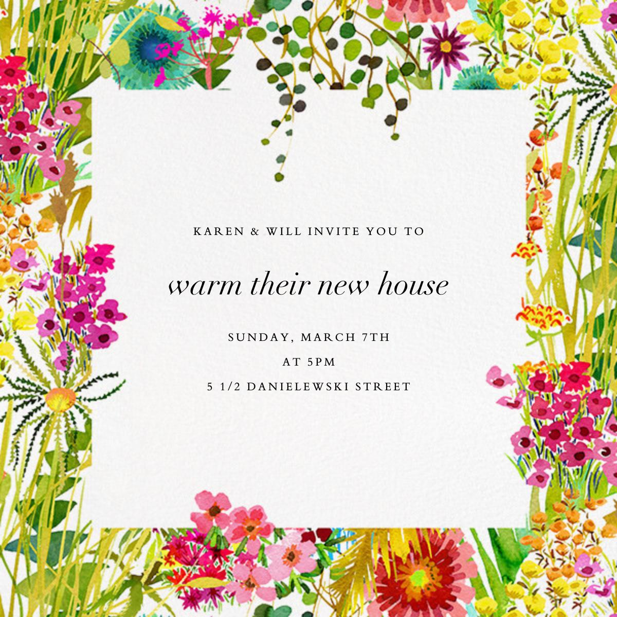 Tresco (Invitation) - Liberty - Housewarming